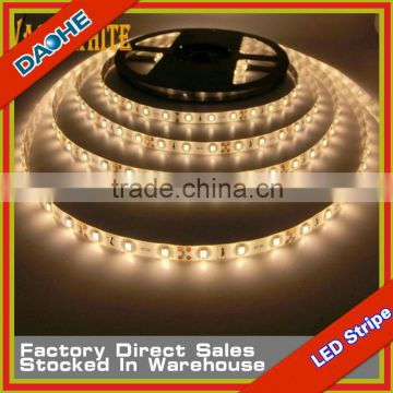 Super Bright Warm White SMD 3014 120LED/M Waterproof 5 Meter 600LED CE/RoHs LED Flexible Strip Light S New
