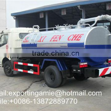fecal suction truck 5000L