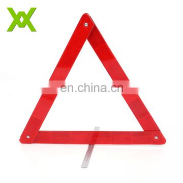 Europe Style LED flashing light warning triangle For Road Warning