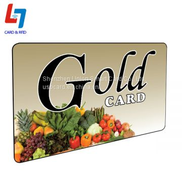 High Quality Factory Direct Supplies Supermarket Shopping PVC Card