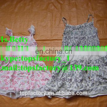 High quality used clothings export surplus garments