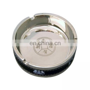 Custom high quality round metal ashtray wholesale