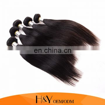 factory wholesale online 100% human hair weft silky straight unprocessed hair