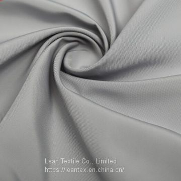 Polyester 75D Fake Memory Fabric Plain Dyed 105 gsm