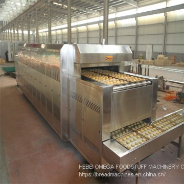 Commercial used bakery equipment tunnel food oven for biscuit