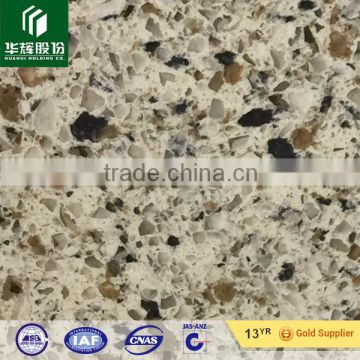 Yellow natural granite quartz stone, multi-colors beige quartz artificial stone big slabs