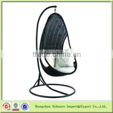 Pear shape bali rattan furniture egg hanging chairs for outdoor garden or patio time-FN4121
