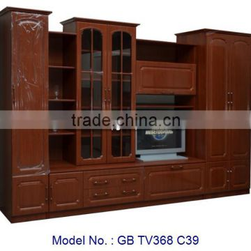 Chinese Style Modern Home Living Room Furniture Mdf Tv Cabinet Stand Hall Of From China