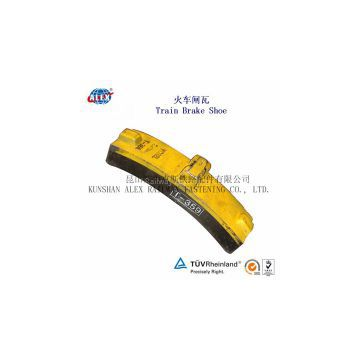 train brake block supplier/locomotive brake block for train wheel/composite brake block made in China
