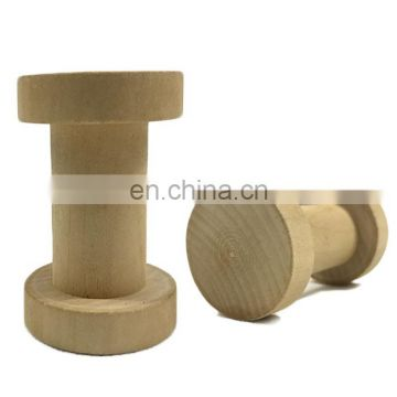 High quality painted wooden spool for twine and thread