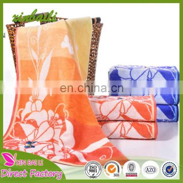 Wholesale Butterfly Designs Jacquard 100% Cotton Pillow Towels