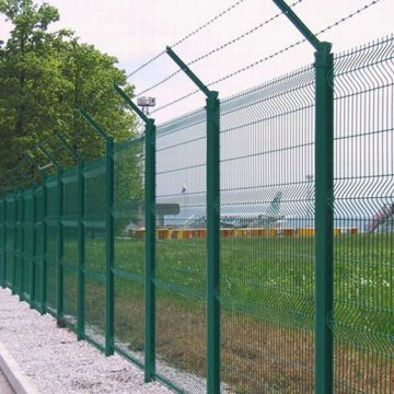 48 Welded Wire Fence 50x50mm Wrought Iron Fence Wire Mesh Fence