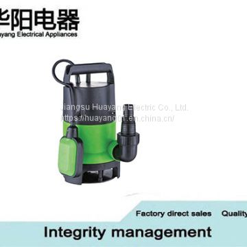 Home Use Small Plastic Electric Submersible Water Pump For Decanting Water And Clean