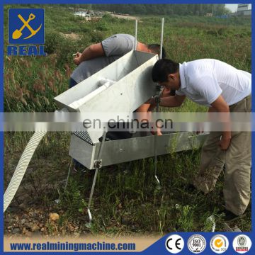 gold panning tools gold sluice box highbanker