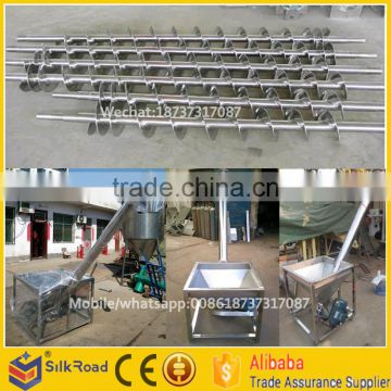 stainless steel screw hoist conveyor|stainless steel grain screw