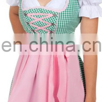 Silk Dirndl Oktoberfest, Carnival Dress, Party Dress, Quality Dress