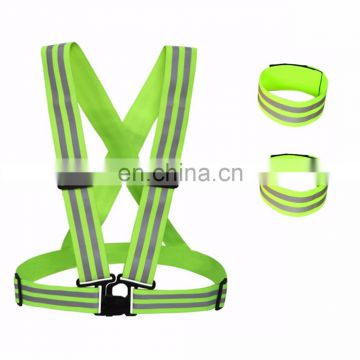 Hot Sell Reflective Safety Vest Belt for Construction Workers