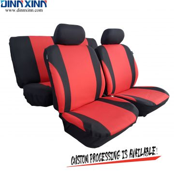 DinnXinn Suzuki 9 pcs full set sandwich leather car seat covers design Export China