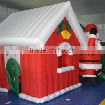 20ft height inflatable homer santa for advertising