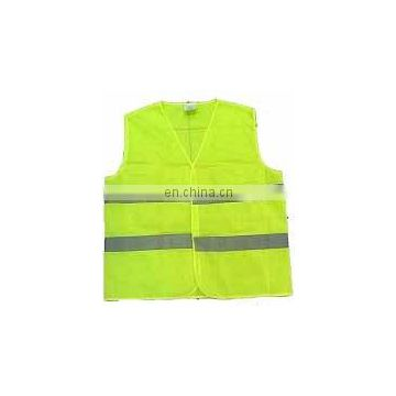 New Safety Vest with Hi-Vis Reflective Tape