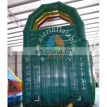 7Lx4Wx6mH Hot sales High quality Durable Inflatable Outdoor Jungle Dry Lane Slide