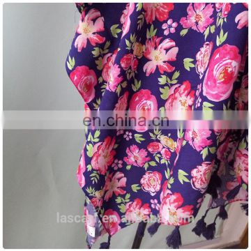 Fashion Ladies Casual Beach Wear With Flowers