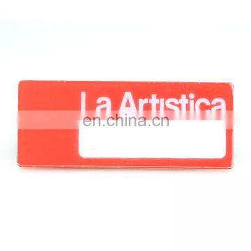 New fashion cheap custom name card badge