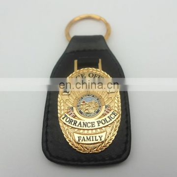 New Style Cheap Price Custom Metal Leather Key Chain key ring