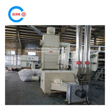 Polyester  thermal Bonded Wadding Production Line and polyester wadding roll making machine