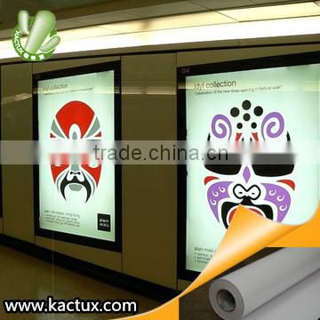 Inkjet Backlit PET Film, Duratrans Backlit Lightbox material