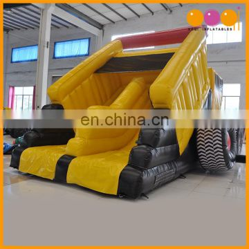 AOQI car model inflatable Truck, inflatable slide for sale