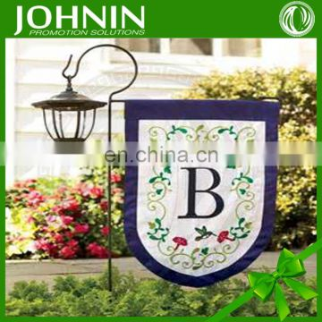 High quality outdoor custom design cheap price garden flag