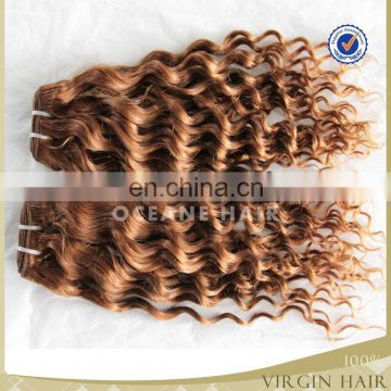 wholesale 6a grade brazilian virgin hair loose deep wave hair weave blonde deep curly