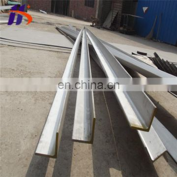 hot rolled unequal stainless steel angle bar 316l 310s