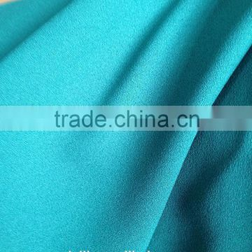 Polyester crepe fabric
