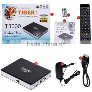 Best Digital Satellite I3000 IPTV box Receiver 2015 for