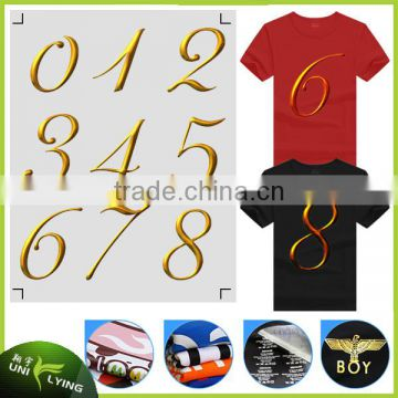 Best Washability Number Heat Transfer Offset Printing for Sportswear,T-shirts