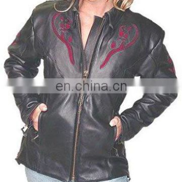 Ladies Leather Jacket Art No: 1133