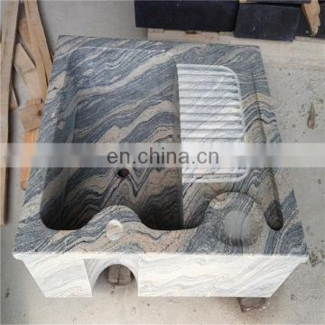 Wave sandstone laundry tray for sale