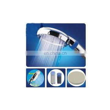Stainless steel low pressure bluetooth shower head rain heated mesh