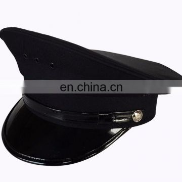 uniform fabric dark blue uniform hat