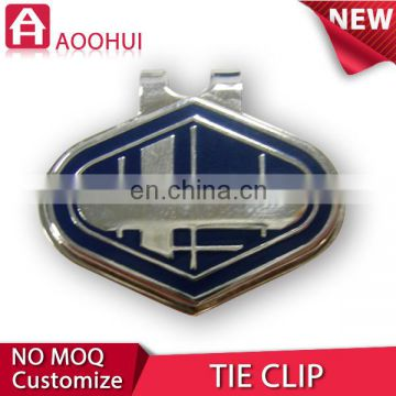 Hot die casting 3D tie clips with custom logo