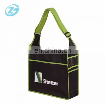 Cheap Non-woven Adjustable Long Shoulder School/Shopping Bag With Your Logo