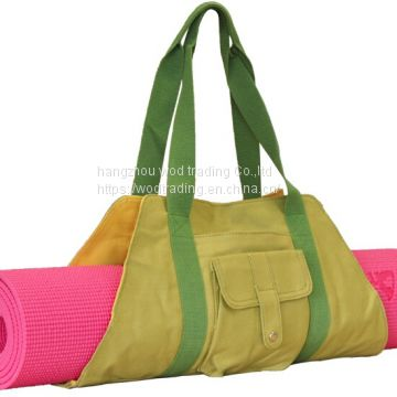 waterproof canvas yoga bags with shoulder from China