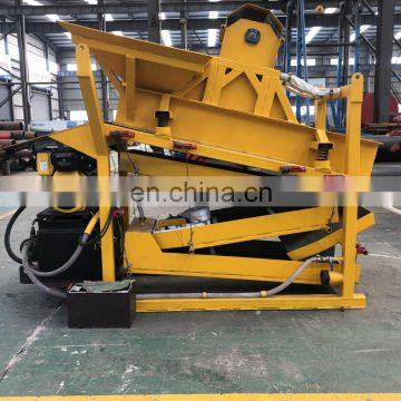 High quality small scale gold mining equipment gold machinery diamond miner