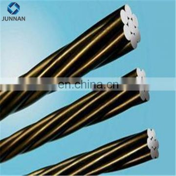 1*7 Wires Low Relaxation PC Strand ASTM A416/prestressed steel strand