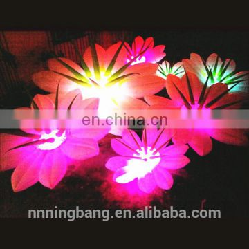 Ningbang hot sale 2018 inflatable flower