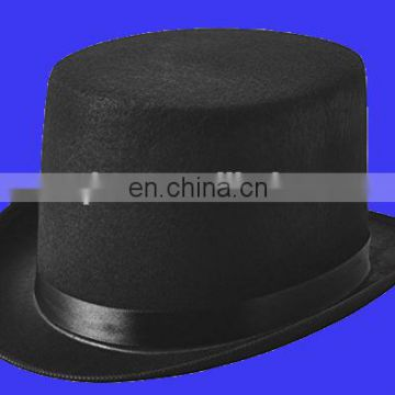 2017 new black Felt Top Hat Costume Dress Up Party Hat