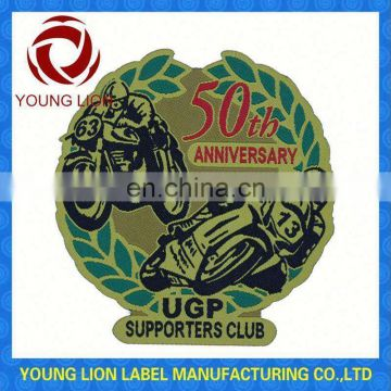 private woven or printed badge for garment