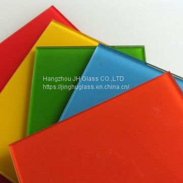 4mm6mm8mm10mm red black yellow white painted glass